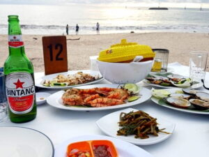 Sunset Dinner Seafood Jimbaran